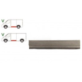 Panou reparatie lateral Vw Transporter T4, 1990- Partea Stanga, Lateral, lungime 1385 mm ,inaltime 260 mm