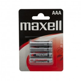Baterie tip AAA Maxell micro , r03 zn , 1.5 V, blister