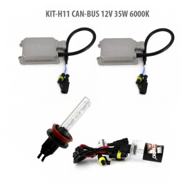 Kit HID xenon H11 Can-Bus 12V 35W 6000K
