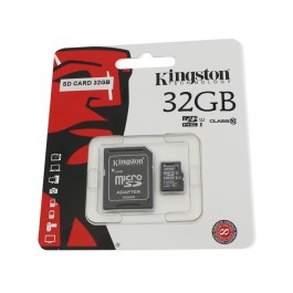Card de memorie Kingston microSDHC 32GB Class 10 + Adaptor