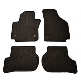 Set covorase auto din cauciuc Seat Altea XL 2006- si Seat Altea 2006- si VW Golf 6 Plus 2009- Gledring 4 buc