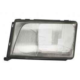 Dispersor sticla far Mercedes W124 Clasa E Sedan Coupe Cabrio Combi 1993-06 1996 AL Automotive lighting partea Stanga