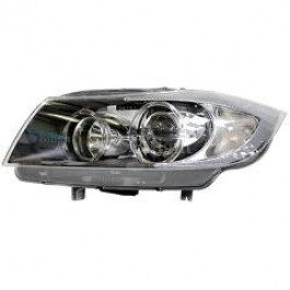 Far Bmw 3 E90 E91 Sedan 2004- Touring 11 2004- 08 2008 ZKW fata dreapta daytime running light tip bec D2S+H7 fara ballast