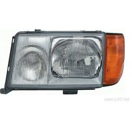 Far Mercedes W124 Clasa E Sedan Coupe Cabrio Combi 1990-1992 AL Automotive lighting partea Stanga H3+H4