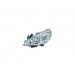 Far Peugeot 307 09 2005- AL Automotive lighting partea Stanga fara bec ceata H1+H7