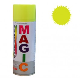 Spray vopsea MAGIC Galben Fluorescent