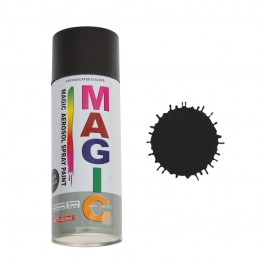 Spray vopsea MAGIC Negru lucios