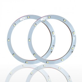 Leduri Angel Eyes LED EVO Formance 12cm culoare alba