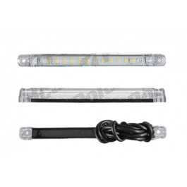 Lumini de zi - Daytime running light universale 237x20x22mm 12 24V leduri