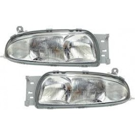 Far MAZDA 121 JASM JBSM 03 1996-12 1999 +Ford Fiesta Courier 11 1995-08 1999 AL Automotive lighting partea dreapta