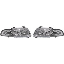 Set faruri Audi A4 Sedan 1999-2000 Avant 1999-2001 BestAutoVest fata stanga-dreapta day time running light