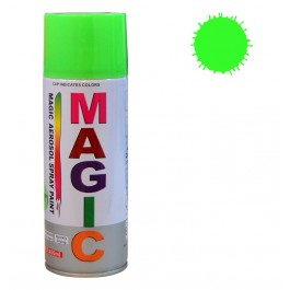 Spray vopsea MAGIC Verde Fluorescent