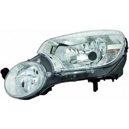 Far Skoda YETI 5L 09 2009- AL Automotive lighting partea Dreapta Xenon tip bec D1S+H7 fara inscriptie Yeti
