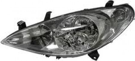 Far Peugeot 307 03 2001-09 2005 AL Automotive lighting partea Stanga H1+H7 cu motoras