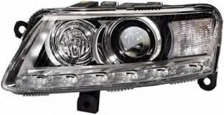 Far Audi A6 C6 10 2008- TYC fata stanga daytime running light D3S+H7+LED