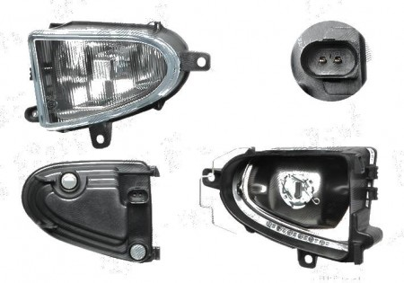 Proiector ceata Ford Galaxy WGR 05 1995-03 2000 Seat ALHAMBRA 7V8 7V9 04 1996-01 2001 Vw SHARAN 7M 05 1995-04 2000 BestAutoVest partea dreapta H3