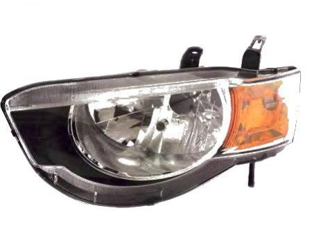 Far Mitsubishi Colt Z30 10 2008- AL Automotive lighting partea Dreapta H4 cu motoras