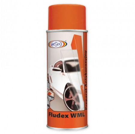 Spray ceara Fludex pe baza de lanolina
