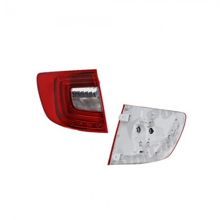Stop spate lampa Skoda Superb (3t), 06.13-Combi, spate, omologare ECE, exterior, 3T9945095A, Stanga