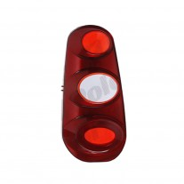Stop spate lampa Smart FORTWO/CITY COUPE/CABRIO (MC01), 2004-12.2006 Model Coupe, partea stanga, smoked flasher, fara suport becuri, EU