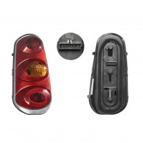 Stop spate lampa Smart FORTWO/CITY COUPE/CABRIO (MC01), 2004-12.2006 Model Coupe, partea stanga, amber flasher, fara suport becuri, EU
