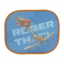 "Set parasolare laterale Disney Avioane ""Planes Sunshade Aces 'n Racers"",44x36 cm , set 2 buc."