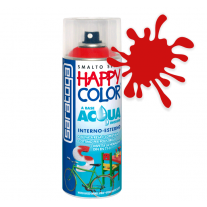 Spray vopsea Rosu Ral 3000 HappyColor Acqua pe baza de apa, 400ml