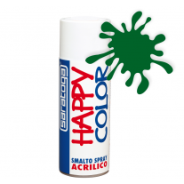 Spray vopsea Verde Smarald Ral6001 HappyColor Acrilic, 400ml