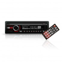 Radio mp3-player auto Carguard 4x50W , MP3, WMA, intrari USB/SD Card/Aux, fata detasabila, telecomanda