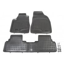 Set covorase auto din cauciuc Lexus RX 450h dupa 2009 , presuri tip tavita marca Rezaw Plast