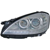 Far Mercedes Clasa S W221 06 2009- AL Automotive lighting partea Stanga D1S+H7