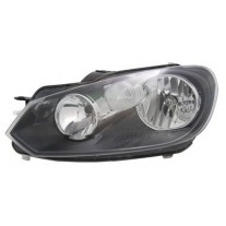 Far Volkswagen Golf 6 10 2008- VALEO partea Stanga daytime running light