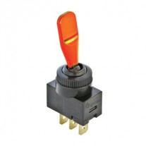 Intrerupator auto Carpoint 12V 20A ON/OFF , orange