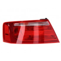 Stop spate lampa Audi A5/S5 (B8), 03.2007-10.2011 Coupe, omologare ECE, spate, cu suport bec, exterior, 8T0945095, Stanga