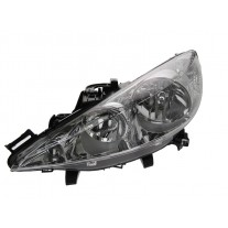 Far Peugeot 206+ (2_) 04.2009- AL Automotive lighting partea Stanga cu bec H1+H7