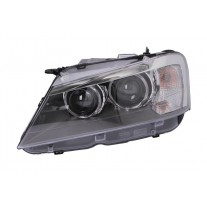 Far Bmw X3 (F25), 11.10-, electric, tip bec D2S+LED, are motoras, omologare ECE, 63117276991; 7276991, Stanga