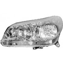 Far Citroen C5 (Rc/Re) 10.2004-01.2008, Stanga, tip bec H1+H7, reglare electrica, ECE, Depo, 620843,