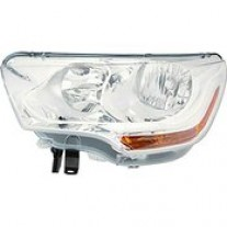 Far Citroen C4 (B7), 09.2010-, Citroen Ds4, 06.2011-, Electric, tip bec H1+H7, cu motoras, omologare ECE, cu lumini de zi, 6206S1, Dreapta, marca AL Automotive lighting
