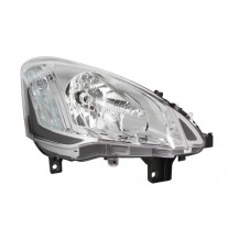 Far Citroen Berlingo (7), 06.2012-, Electric, tip bec H4, are motoras, omologare ECE, 9677201980; 9806306580, Dreapta