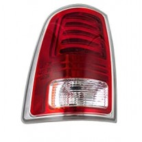 Stop spate lampa Dodge Ram (Ds/Dj), 01.13, spate, omologare SAE, cu suport bec, LED, 68093079AB; 68093079AC, Stanga