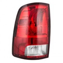 Stop spate lampa Dodge Ram (Ds/Dj), 09.08-12.13, spate, omologare SAE, cu suport bec, 55277415AA; 55277415AB, Stanga