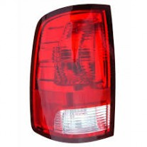 Stop spate lampa Dodge Ram (Ds/Dj), 09.2008-12.2013, spate, omologare SAE, cu suport bec, 55277414AA; 55277414AB, Dreapta
