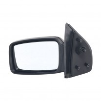 Oglinda exterioara Ford Sierra (Gbc/Gbg/Gb4/Bng) H-Back/Sedan/Estate, 04.1987-02.1993, Ford Sierra (Gbc/Bnc) (H-Back/Estate, 08.1982-03.1987, Stanga, Crom, manuala,prin cablu, Fara incalzire, carcasa neagra, Convex, BestAutoVest 1650805; 6167554; 6500349;