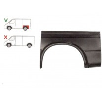 Aripa spate Ford Transit 1991-1994 Partea Stanga, Marime 1/2, Lungime 1096 Mm, Inaltime 590 Mm, Varianta Scurta,