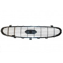 Grila radiator Ford Transit (Ve83) 1996-07.2000, interior, grunduit, 7139944, 3246051R, Cross Hatch type