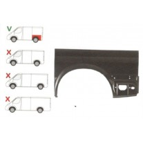 Aripa spate Ford Transit, 2000-2006 Partea Stanga, Lungime 1270 Mm , Inaltime 750 Mm, Modelul Scurt,