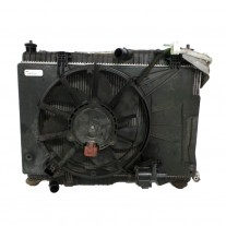 GMV radiator electroventilator Ford Fiesta (Ja8), 09.2011- , Ford B-Max, 2012-, Ecosport, 2013-, Motorizare 1.0 Ecoboost 74/88/92/103kw Benzina, tip climatizare cu AC, dimensiune mm, Aftermarket