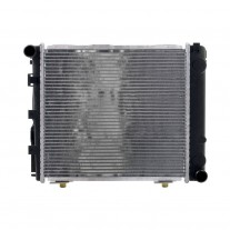 Radiator racire Mercedes 190 (W201) 06.1984-1993 Model 190 (2,5 143kw ; 2,3 97/100kw); 2,5 Evolution (2,5 143/150kw); 2,5 Evolution Ii (2,5 173kw); Benzina, tip climatizare Manual, dimensiune 412x370x41mm, Cu lipire fagure prin brazare, Aftermarket