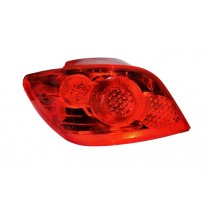 Stop spate lampa Peugeot 307 (3), 09.05-09.07 Hatchback, spate, omologare ECE, cu suport bec, 6350.XO; 6350X0, Stanga