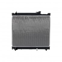 Radiator racire Suzuki Grand Vitara (Ft/Gt), 01.1998-04.2005 2,0 93kw; 2,5 V6 106kw; Benzina, Manual, Cu/fara AC , diametru intrare/iesire 34/34mm, 526x425x26, Cu lipire fagure prin brazare Aftermarket